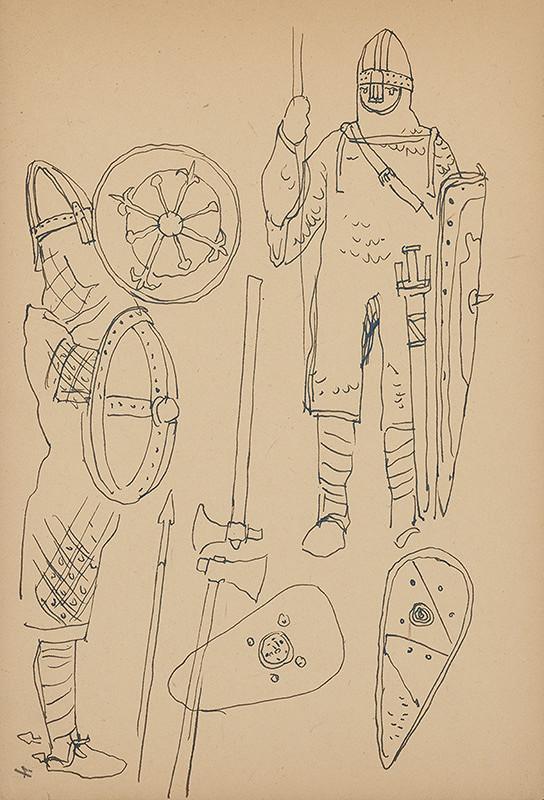 Jaroslav Vodrážka – Kresba č. 4