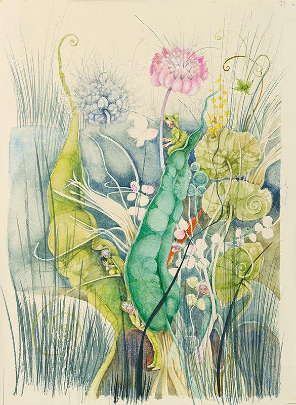 Alžbeta Štefunková-Szabová – Ilustrácia ku knihe Škriatkovia z basy