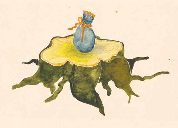 Alžbeta Štefunková-Szabová - Ilustrácia ku knihe Škriatkovia z basy