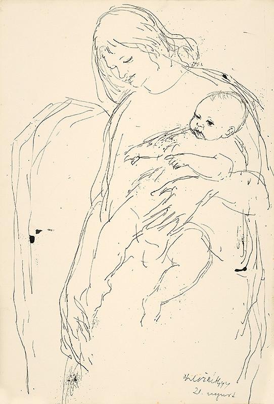 Vincent Hložník – Matka s dieťaťom