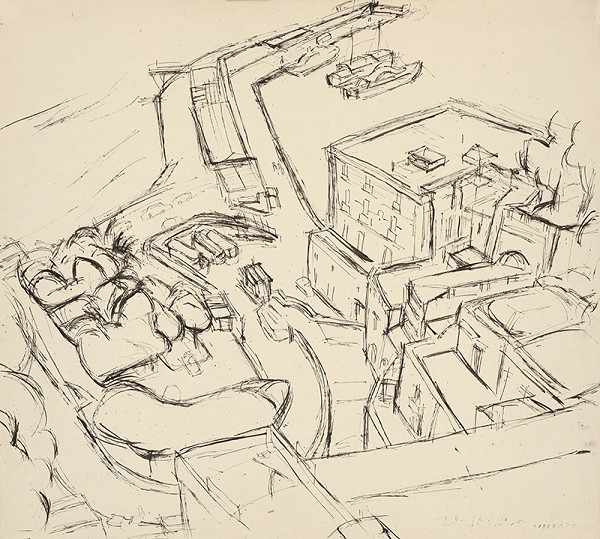 Ernest Zmeták – Veľký prístav v Sorrente