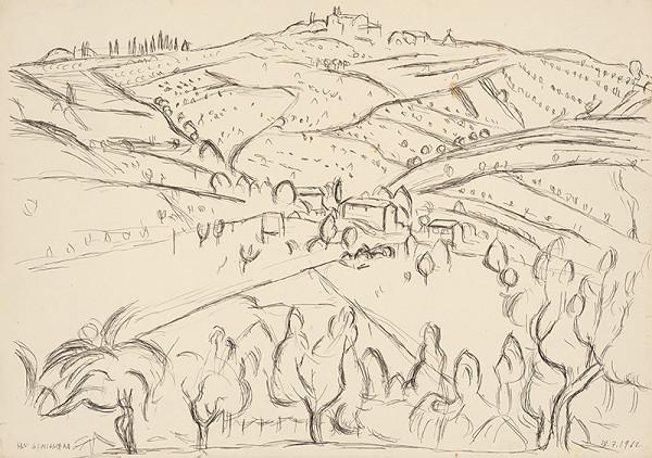Ernest Zmeták – Krajina zo San Gimigniana