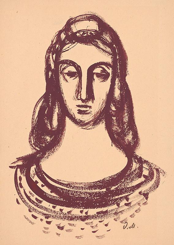 Dezider Milly – Portrét ženy