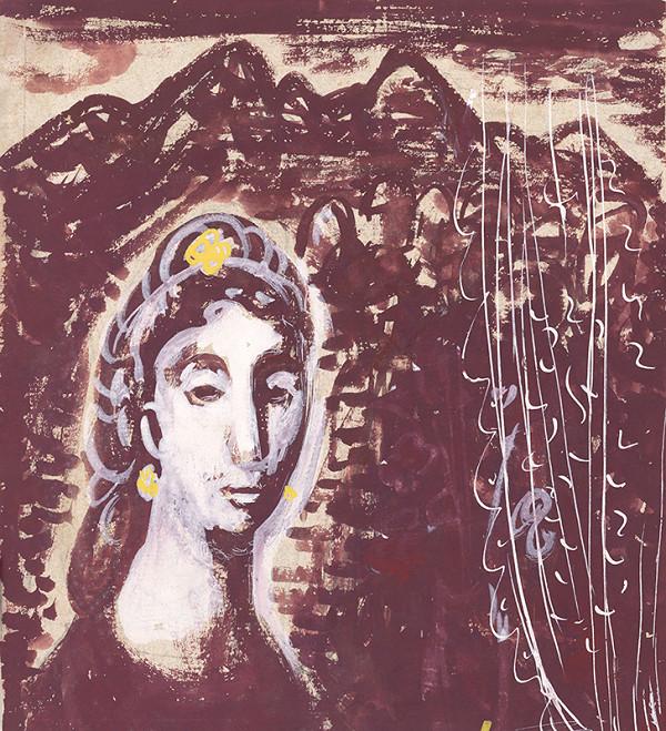 Dezider Milly - Žena v okne