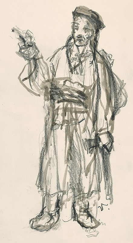 Jaroslav Vodrážka – Muž v kroji