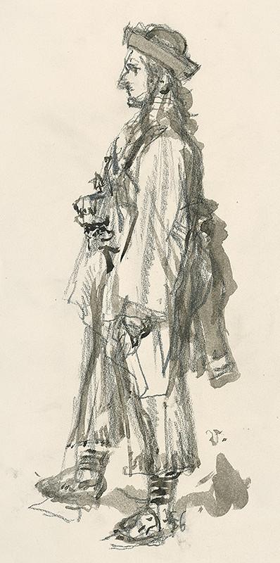 Jaroslav Vodrážka - Muž z profilu