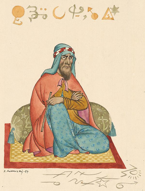 Emil Makovický - Rozprávka o Aláaddínovi a čarovnej lampe XI