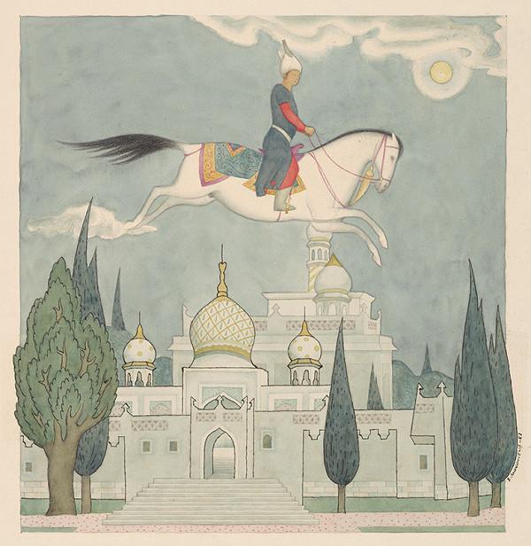 Emil Makovický - Rozprávka o lietajúcom koňovi