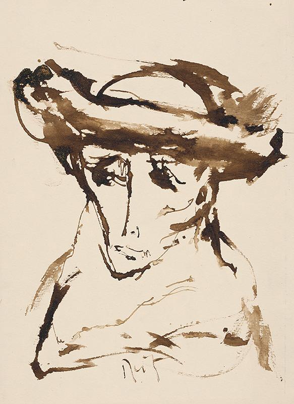 Ernest Špitz – Kresba hlavy I.