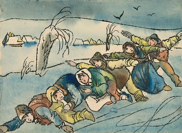 Vincent Hložník - Zimný motív VI