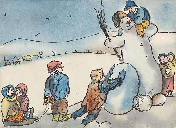Vincent Hložník - Zimný motív X
