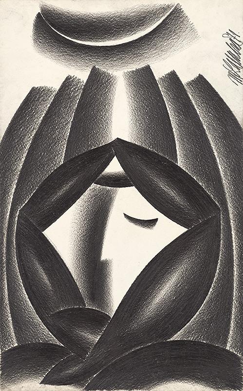 Milan Laluha – Žena v šatke I.