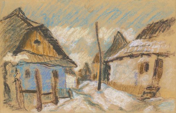 Zolo Palugyay - Zima na dedine I.