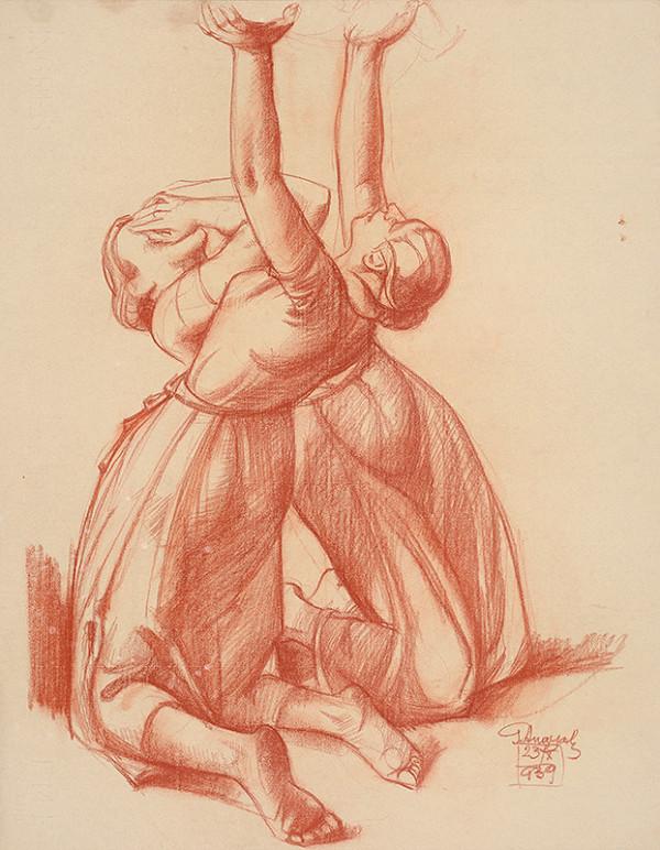 Gejza Angyal - Dve zúfalé ženy