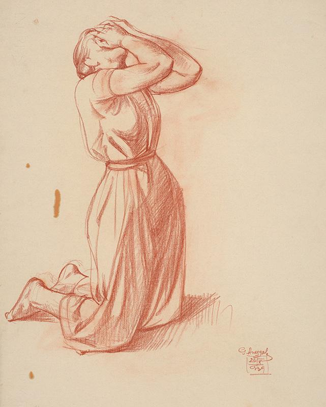 Gejza Angyal, Zúfalá žena I., 1939