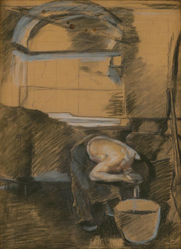 Dominik Skutecký – Po práci, 1910 – 1913, Stredoslovenská galéria