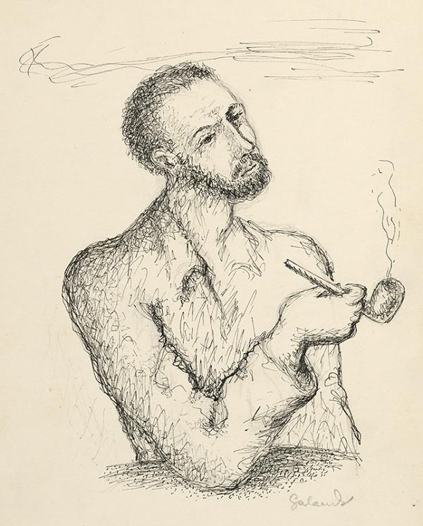 Mikuláš Galanda – Muž s fajkou