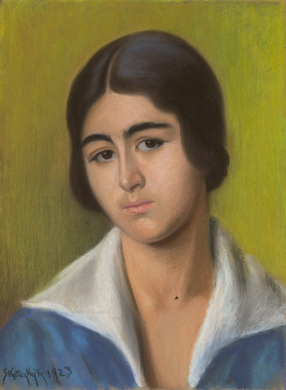 Karola Skutecká - Portrét ženy