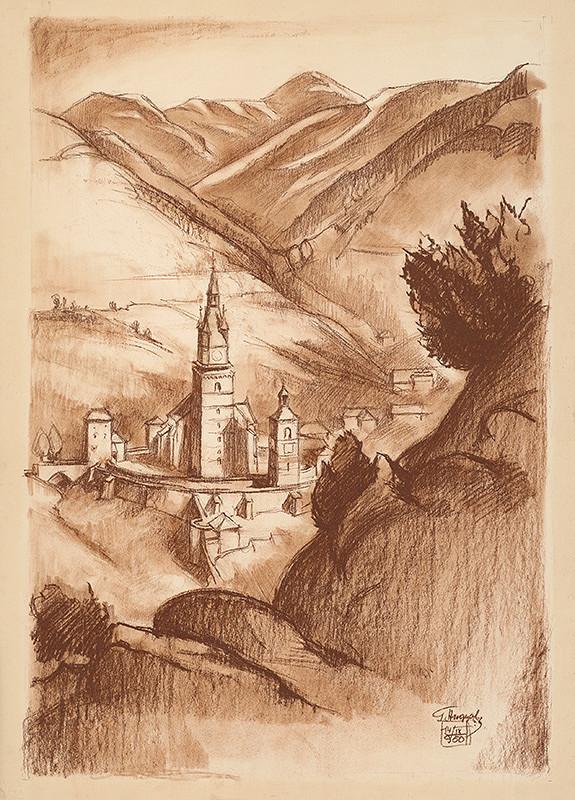 Gejza Angyal – Kremnica z Kalvárie II.
