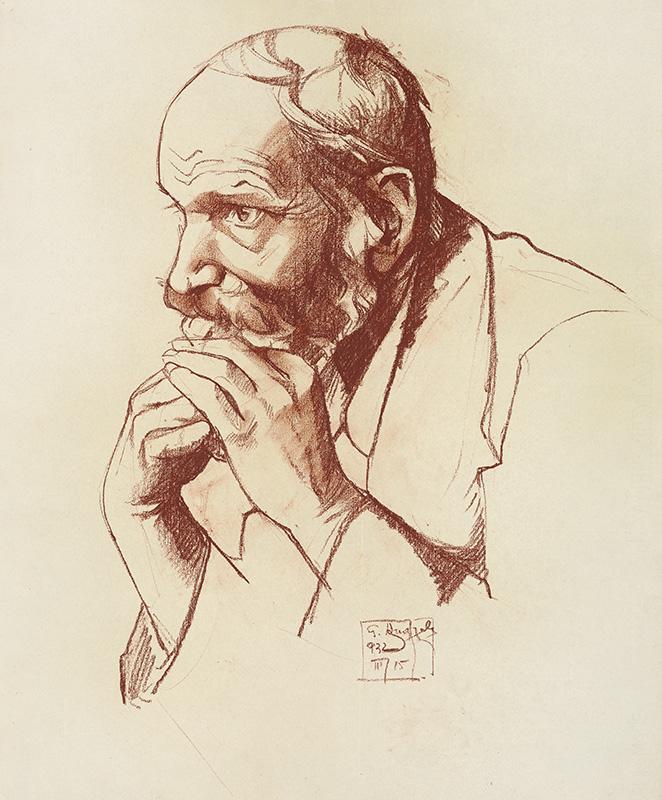 Gejza Angyal, Štúdia hlavy I., 1932