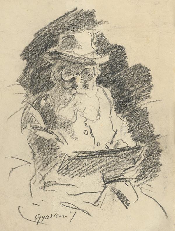 František Gyurkovits - Autoportrét 18