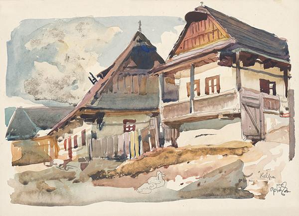 Jaroslav Vodrážka – Heľpa - štúdia domov