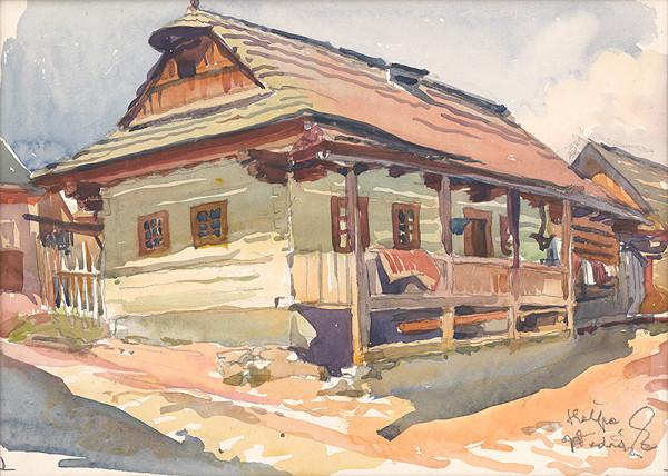 Jaroslav Vodrážka - Heľpa - štúdia domu
