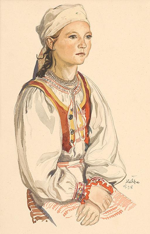 Jaroslav Vodrážka – Dievčatko z Heľpy