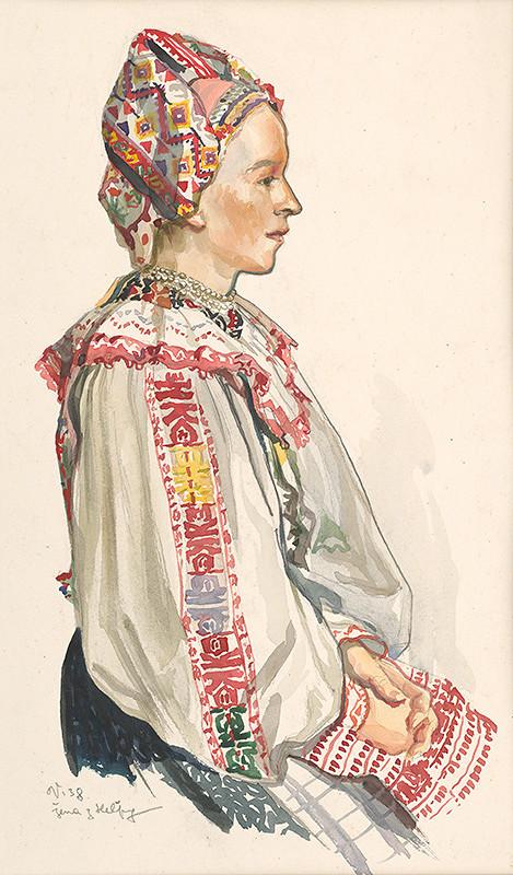 Jaroslav Vodrážka – Žena z Heľpy