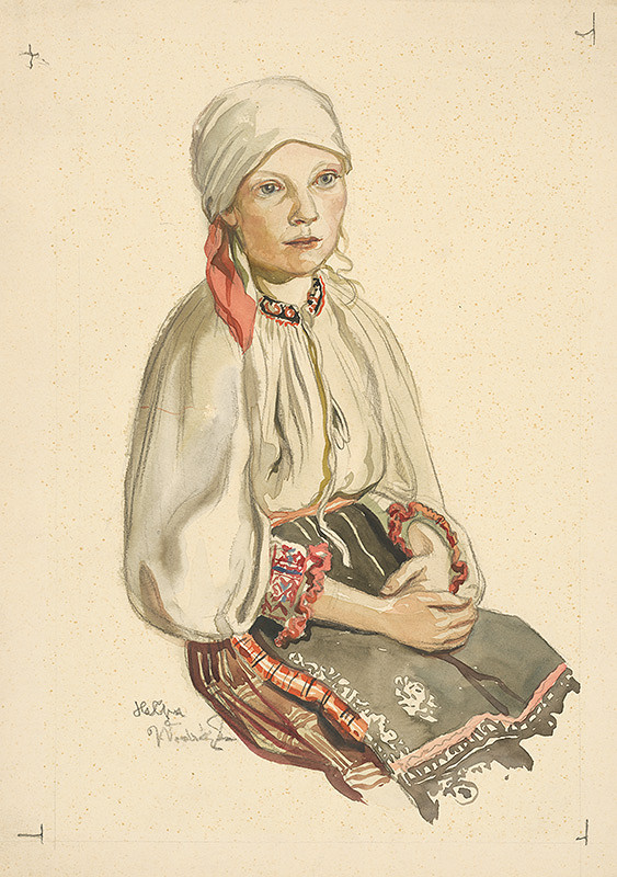 Jaroslav Vodrážka - Dievča v šatke