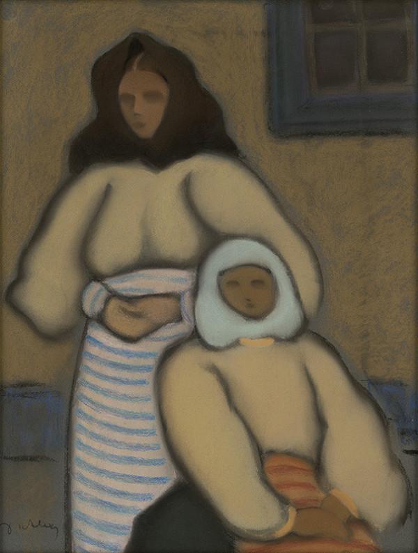Janko Alexy – Dve ženy v kroji