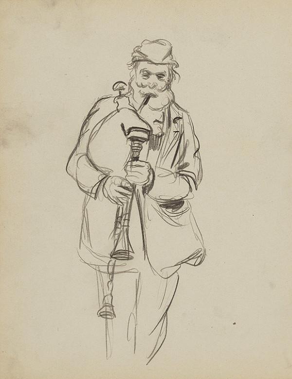 Ján Novák - List č.32 zo skicára
