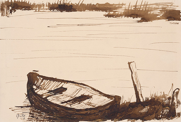 Ernest Špitz - Starý čln