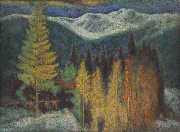 Janko Alexy – Drevorubači v horách