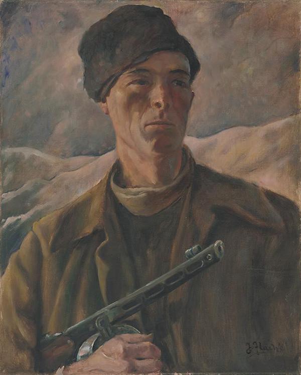 Július Flache – Partizán