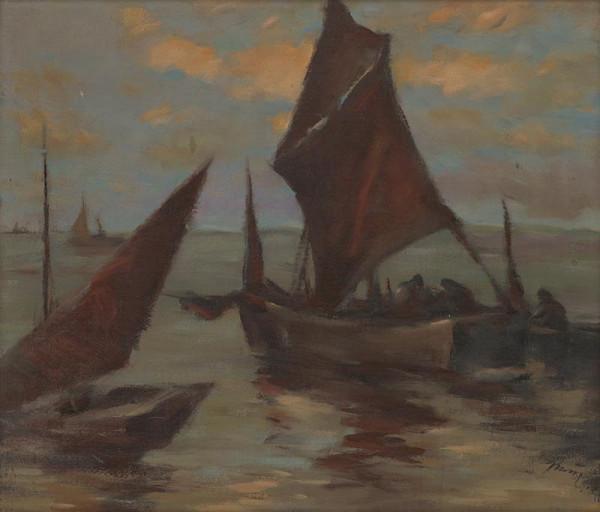 Viliam Ruttkay-Nedecký – Nočný rybolov