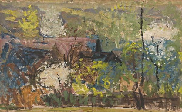 Miloš Alexander Bazovský – Rozkvitnuté stromy