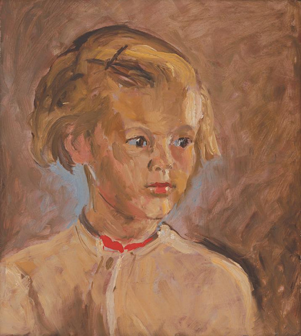 Jozef Kollár - Portrét dievčaťa