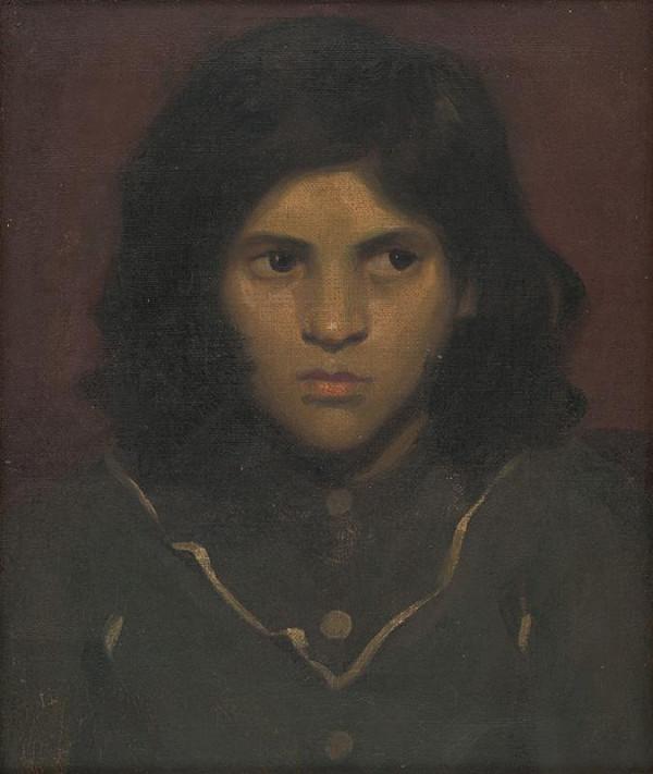Viliam Ruttkay-Nedecký - Portrét dievčaťa