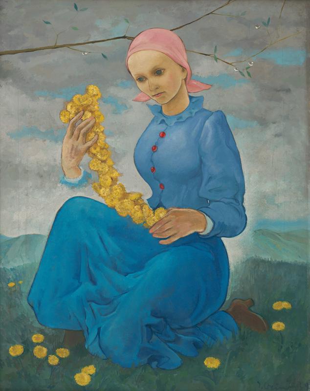 Imrich Weiner-Kráľ, Smutné dievča, 1939