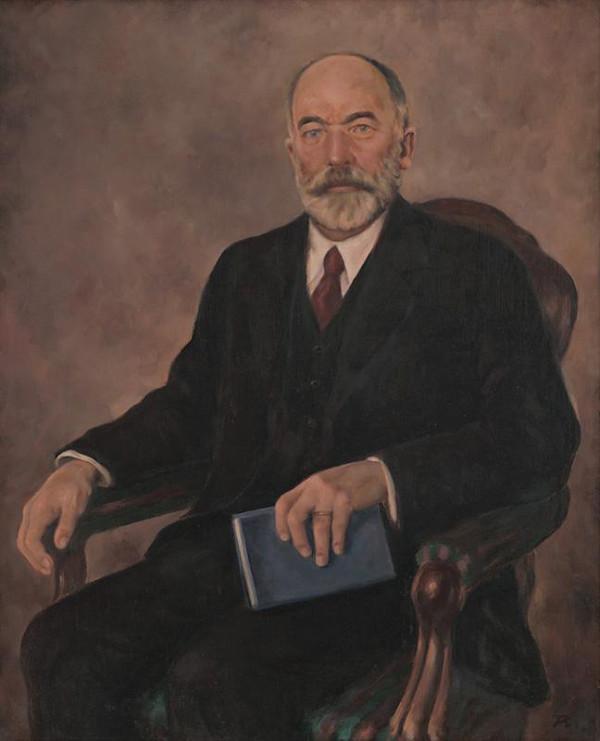 Viliam Ruttkay-Nedecký - Portrét J.G.Tajovský