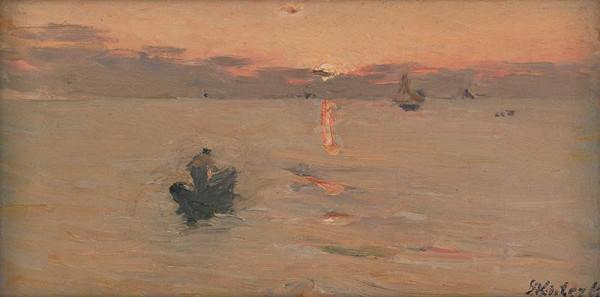 Dominik Skutecký - Rybár na mori
