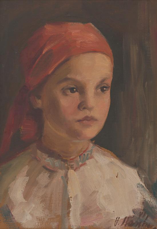 Vojtech Stašík, Hlava dievčaťa, 1945 – 1950