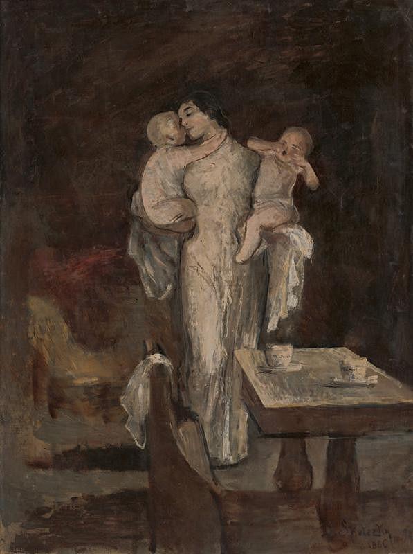 Dominik Skutecký – Matka s deťmi