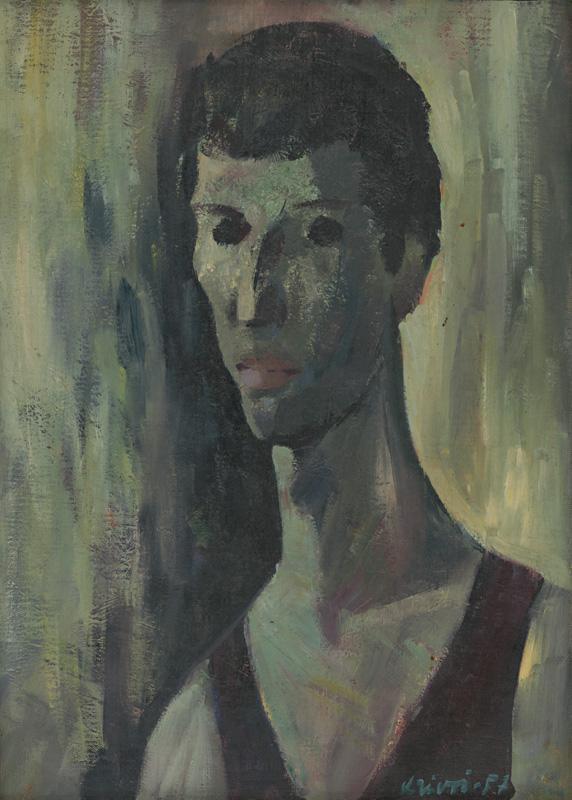 Rudolf Krivoš, Autoportrét, 1957