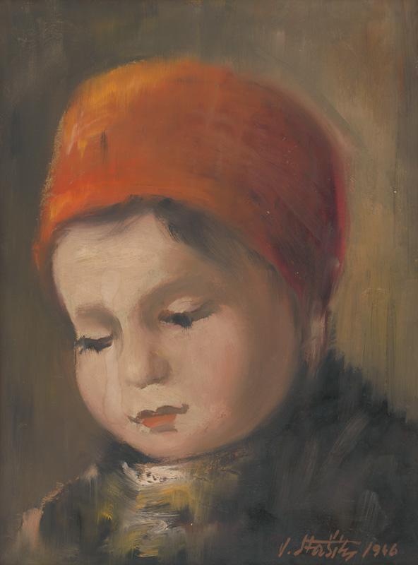 Vojtech Stašík, Dievčatko, 1946