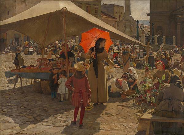 Dominik Skutecký – Trh v Banskej Bystrici