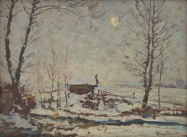 František Gyurkovits – Zimná krajina