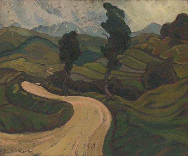 Edmund Gwerk - Krajinná štúdia severnej Oravy