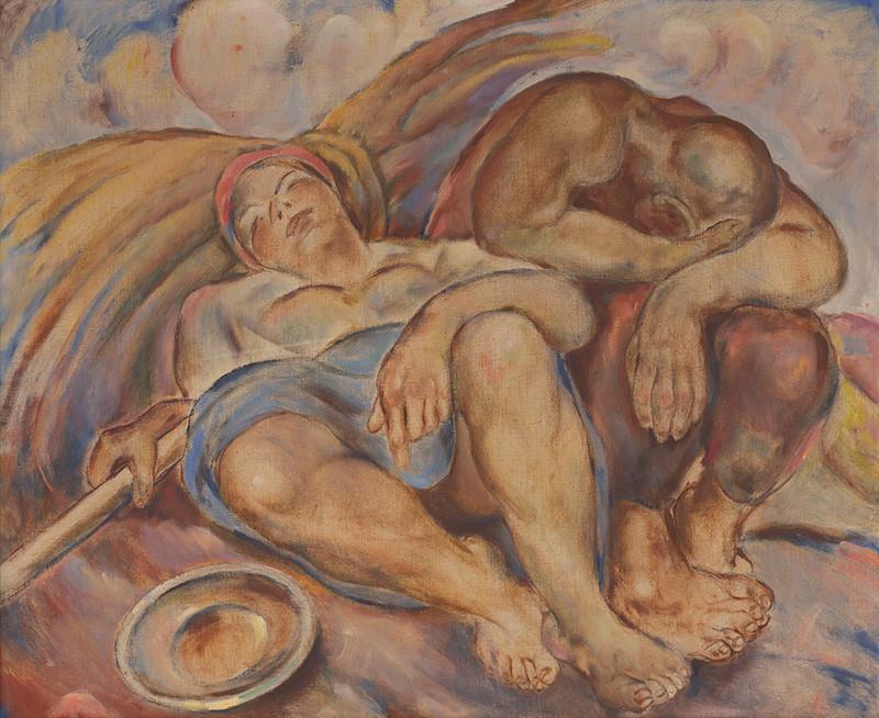 Július Flache – Po práci, 1935 – 1945, Stredoslovenská galéria